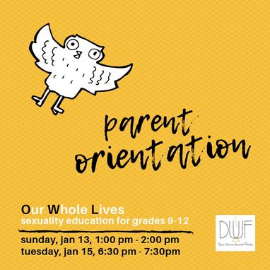 OWL parent meeting  4