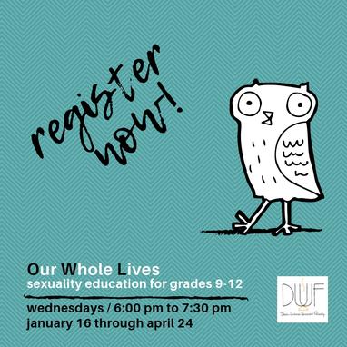 OWL register now 2